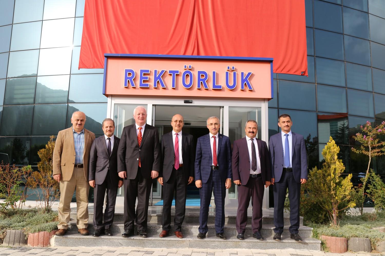 Doğu Karadeniz Bölümü Üniversitelerinin Rektörleri Üniversitemizde