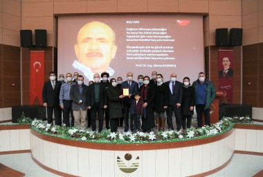 Our Conference Hall named after Prof. Dr. Ing. Ahmet DURMUŞ