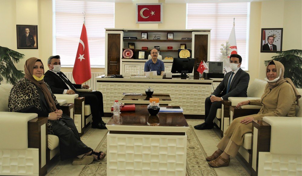 Visit from Gümüşeller to Our Rector