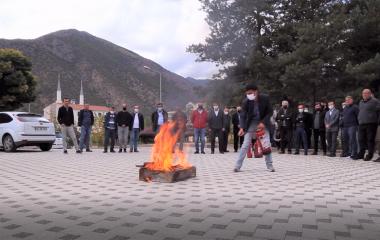 Yangın Söndürme Tatbikatı Gerçekleştirildi