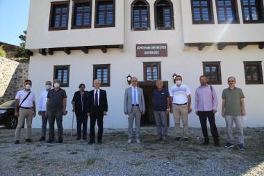 Üniversitemiz Yönetim Kurulu Toplantısı Süleymaniye'de Gerçekleştirildi