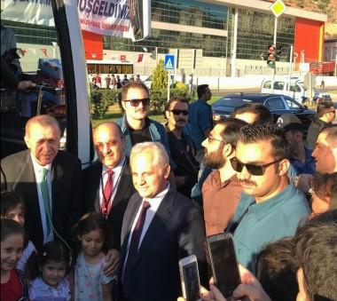 Sayın Cumhurbaşkanımız Recep Tayyip Erdoğan üniversitemiz personeli ile buluştu