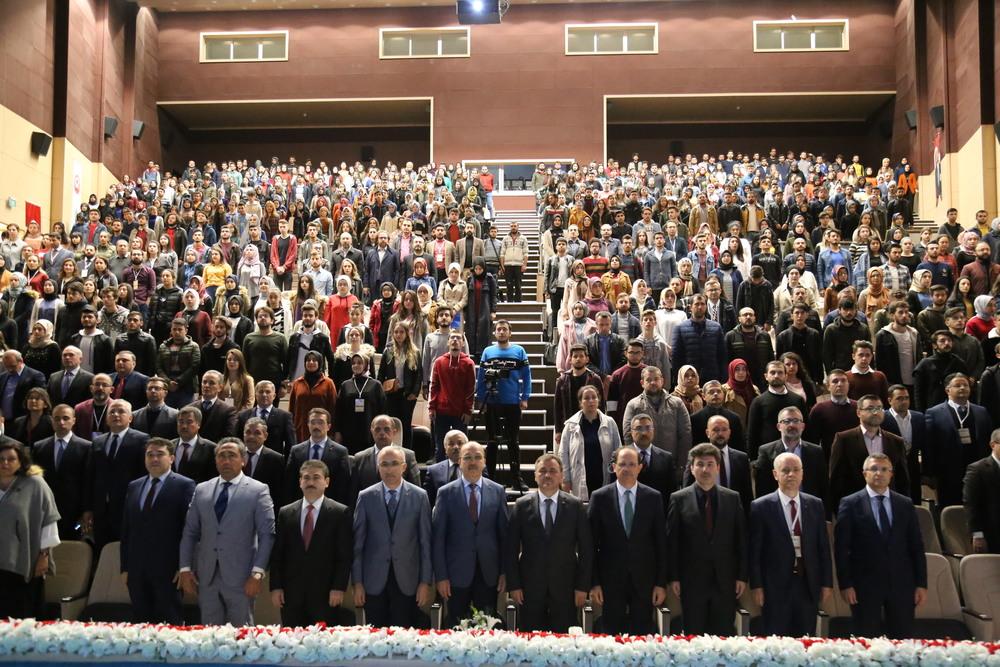 II. Uluslararası Sosyal Bilimler Kongresi Başladı