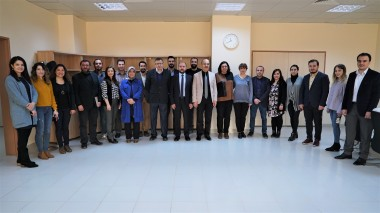 The Dean of Faculty of Communication comes together with Academic Members
