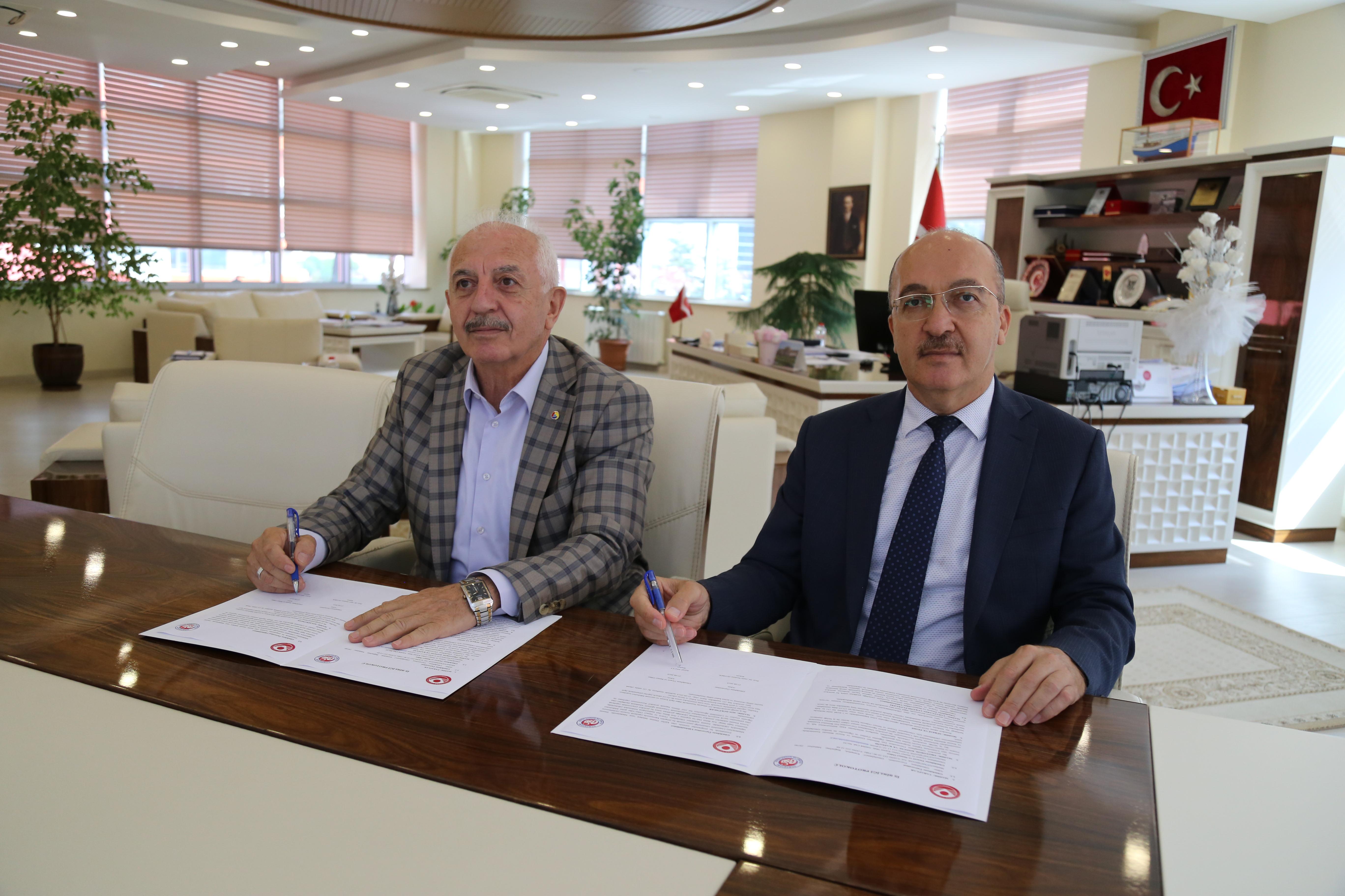 KÜSİ İşbirliği Kapsamında GTSO ile Karşılıklı Protokol İmzalandı