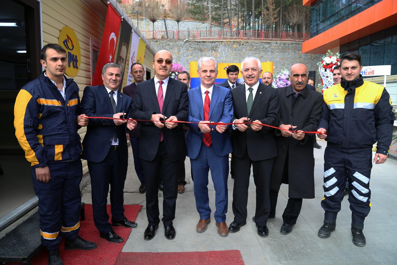Üniversitemizde PTT şubesinin açılışı yapıldı