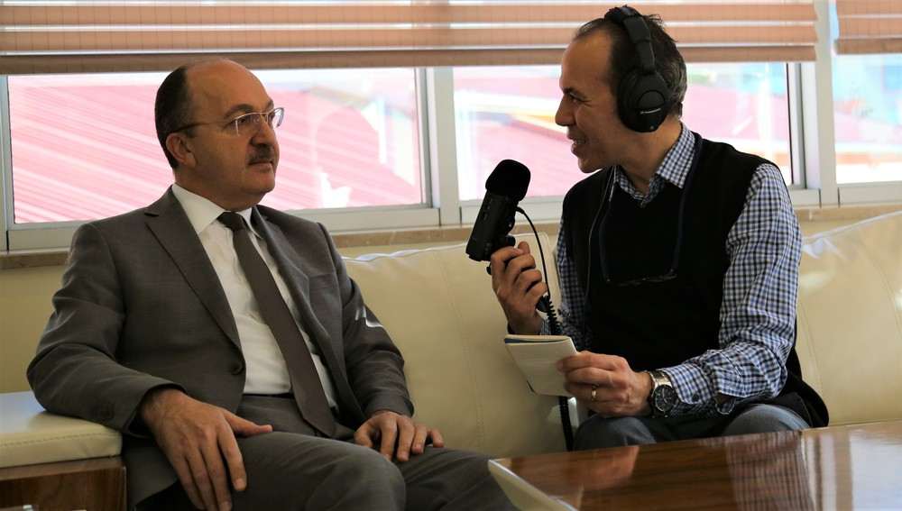 Rektörümüz TRT Trabzon Radyosu'na Konuştu