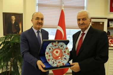 Oltan Sungurla Has Visited Our Rector
