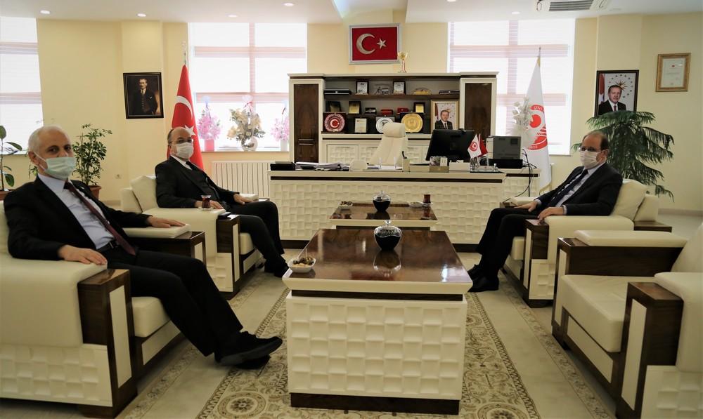 Rektör Coşkun'dan 'Hayırlı Olsun' Ziyareti