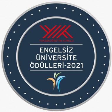 """Rektörümüz """"2021 Yılı Engelsiz Üniversite Ödül Töreni"""" ne Katıldı"""