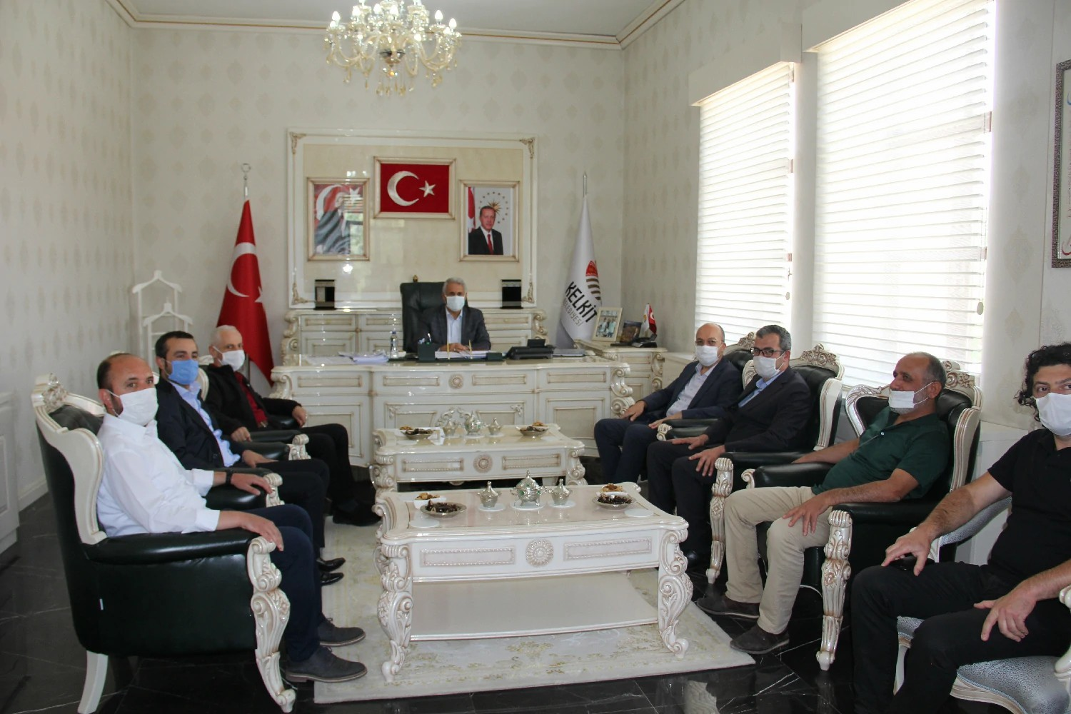 Our Rector Paid Formal Visits in Kelkit