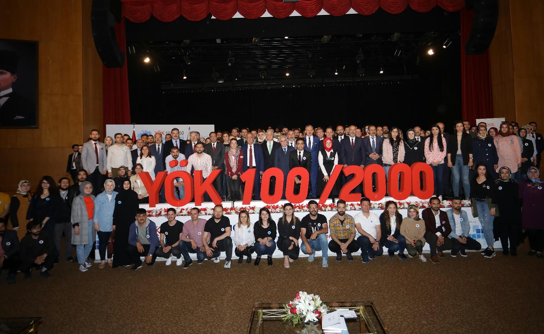 Rektörümüz YÖK 100/2000 Doktora Burs Programı'na Katıldı