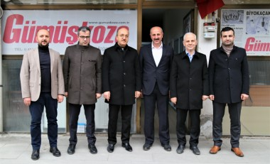 Our Rector Visited Local Newspapers