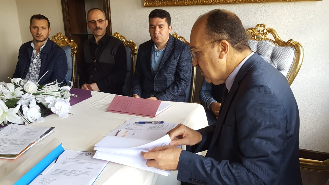 Süleymaniye Ofisi'nde İlk Yönetim Kurulu Toplantısı Gerçekleştirildi