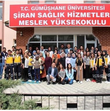 Şiran Sağlık Hizmetleri MYO Yeni Açılan Programlarına İlk Öğrencilerini Alıyor
