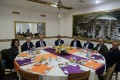 Our Rector comes together with University Personnel for iftar meal