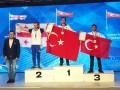 Dünya Bilek Güreşi Şampiyonasına Gümüşhane Üniversitesi Damgası