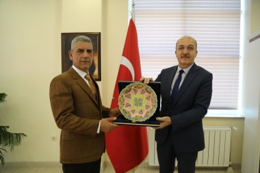Farewell Visit from Karataş to Our Rector