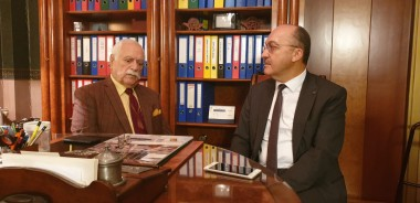 Our Rector met with Rafet Ataç