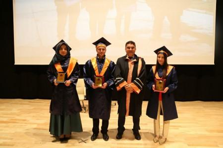 Gümüşhane Meslek Yüksekokulu öğrencileri mezun oldu