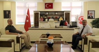 Kürtün Belediye Başkanı'ndan Rektörümüze Ziyaret