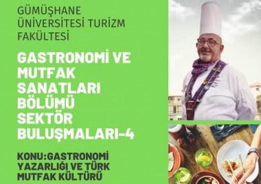 World Famous Gourmet Haldun TÜZEL as Guest In The Fourth Of Online Gastronomy Talks